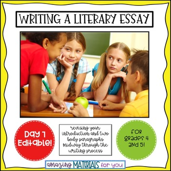 Day 7_Teaching the Literary Essay