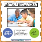 Day 9_Teaching the Literary Essay