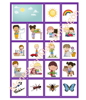 Day And Night Sorting Cards Activity