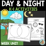 Day And Night Science for Kindergarten and 1st Grade