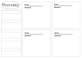 Day Book Organizer