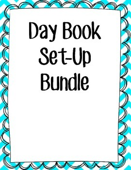 Day Book Set-Up Bundle Pack