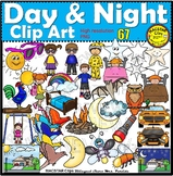 Day and Night Clip Art  ClipArt