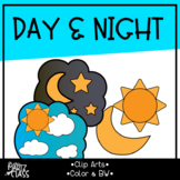 Day & Night Cliparts