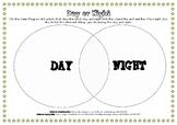 Day & Night - Venn Diagram Sort