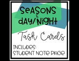 Day/Night and Season Task Cards