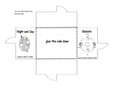 Day, Night and Seasons Foldable