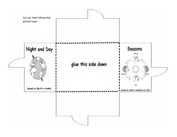 day night and seasons foldable by sciencerly teachers pay teachers. Black Bedroom Furniture Sets. Home Design Ideas