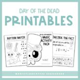 Day Of The Dead (Dia De Los Muertos) Music Activities | Pr