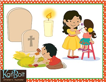 Day Of The Dead Dia de Muertos Traditions Clip Art
