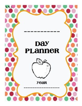 Day Plan {Day Book Binder}
