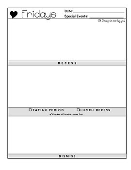 Day Plan Template     Easy No Fuss
