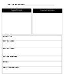 Day Planner Printable