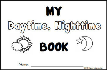 Day Sky, Night Sky - My Daytime, Nighttime Book