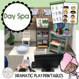 Day Spa Dramatic Play / Pretend Play Printables