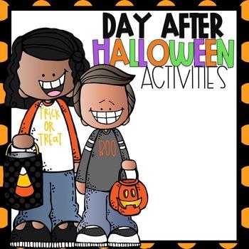 Day after Halloween Activities FREEBIE