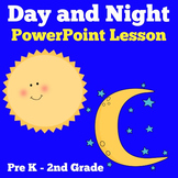 Day and Night | Kindergarten 1st 2nd Grade PowerPoint Activity