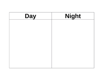 Day and Night Event Sort
