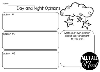 Day and Night: Fact and Opinion