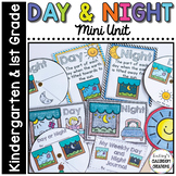 Day & Night Activities- Graphic Organizers, Science Center,  & More