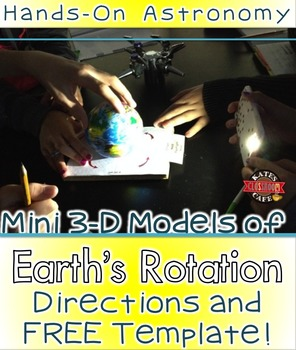 Day and Night Model Template and Directions FREE