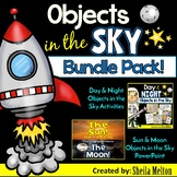 Day and Night Objects in the Sky Bundle! Real picture sorts and PowerPoint