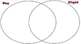 Day and Night Picture Sort with Venn Diagram