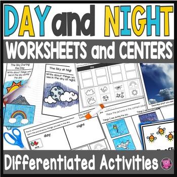 Kindergarten Day and Night Sky Packet