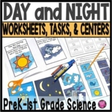 Day and Night Activities Worksheets Activities and Centers Packet