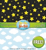 FREE Day and Night Sky Digital Scrapbook {Zip-A-Dee-Doo-Dah Designs}