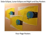 Day and Night, Solar Eclipse and Lunar Eclipse