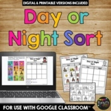Day and Night Sort Worksheet Activity