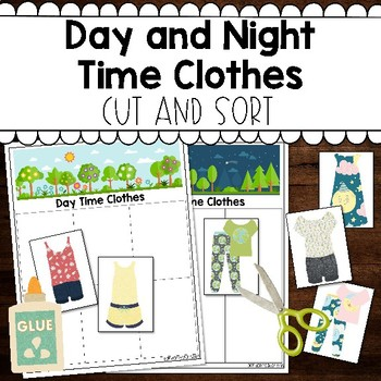 Day and Night Time Clothes Sort