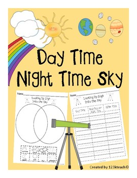 Day and Night Time Sky