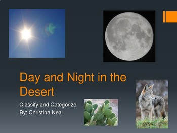 Day and Night in the Desert