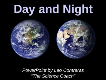 Day and Night on Earth for Elementary Student