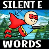 silent e worksheets -rocket theme