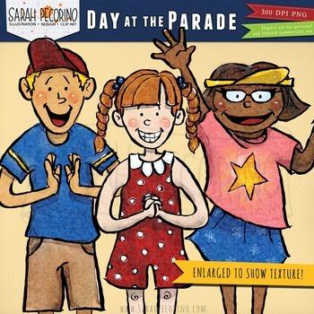 Parade Clip Art -  Build-Your-Own Parade