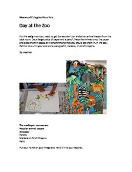 Day at the Zoo- Special Needs