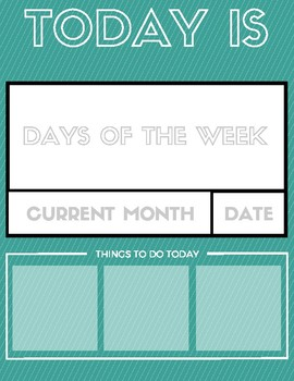Day by Day Calendar / Planner