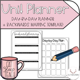 Day-by-Day Planner + Backwards Mapping