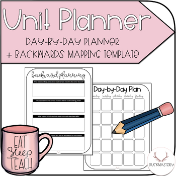 graphic regarding Day by Day Planner referred to as Working day-as a result of-Working day Planner + Backwards Mapping