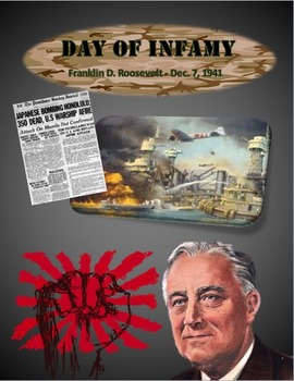 Day of Infamy Speech Primary Source World War II With Questions