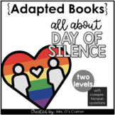 Day of Silence Adapted Books [Level 1 and Level 2] Digital