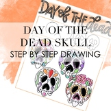 Day of The Dead Skull Step By Step Handout