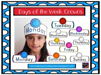 Days of The Week Crowns