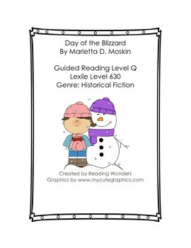 Day of the Blizzard Book Club