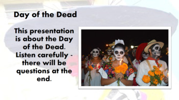 Day of the Dead 2017 Lesson Presentation Dia de los Muertos Assembly Powerpoint