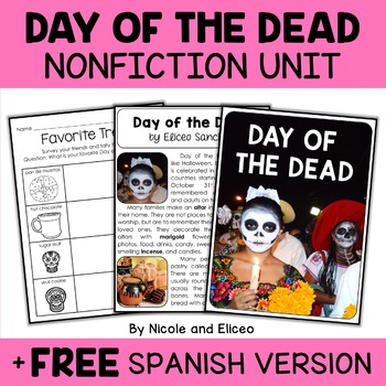 Nonfiction Unit - Day of the Dead Activities