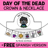 Crown and Necklace Craft - Day of the Dead Activities